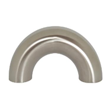DIN privirinama alkūnė 180° (AISI 304)