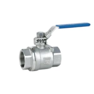 Rutulinis ventilis 2-ių dalių (srieginis) (AISI 304)